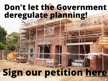 Petition against the proposed changes to the planning system